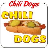 Hot Dog with Chili Decal