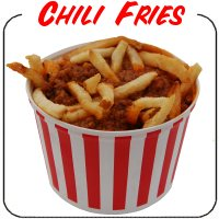 Chili Fries Decal