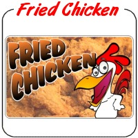 Fried Chicken Decal