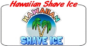 Hawaiiian Shave Ice Decal