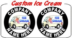 Custom Ice Cream Truck Decals