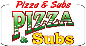 Pizza and Subs Decal