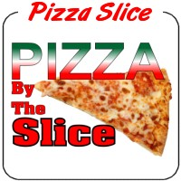 Pizza by the Slice Decal