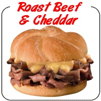 Roast Beef and Cheddar on a Bun Decal