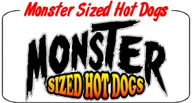 Monster Sized Hot Dogs Decals